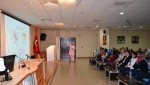 Kilis'te Diyabet Konferansı Verildi