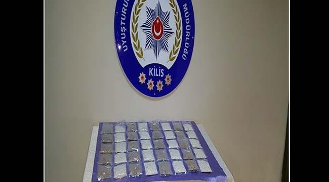 Kilis'te Uyuşturucu Hap Operasyonnu
