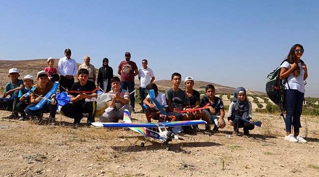 Kilis'te Model Uçak Kursu Düzenlendi