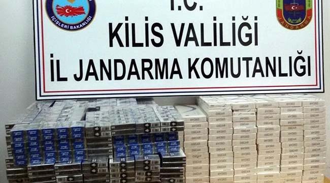Kilis'te Kaçak Sigara ve Akaryakıt Ele Geçirildi
