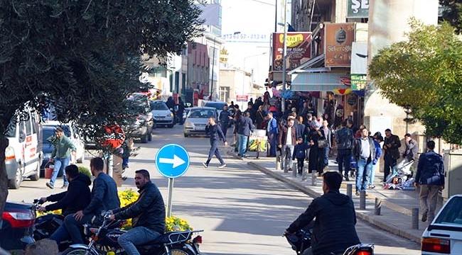 Kilis'te Pazar Günü Yoğunluğu