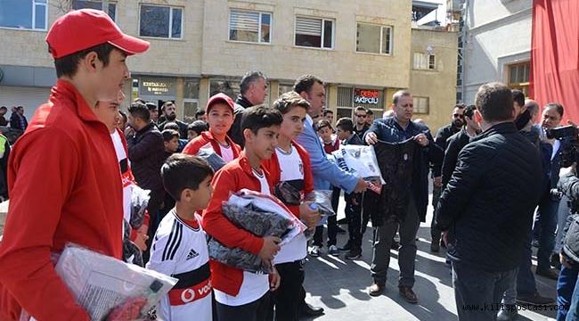 Beşiktaş'tan Kilis'e Ziyaret