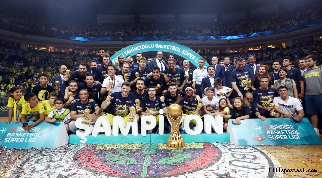 Fenerbahçe, Potada 9. Kez Şampiyon
