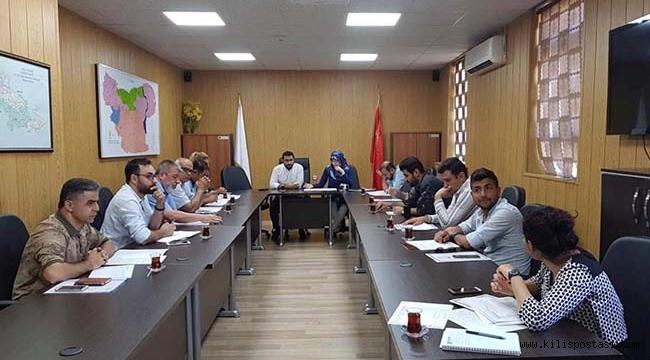 Kilis'te İntiharlara Karşı Önlem Toplantısı