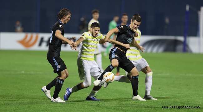 Fenerbahçe Zagreb'de Kayboldu