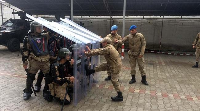 Kilis'te Jandarmadan Seçim Eğitimi