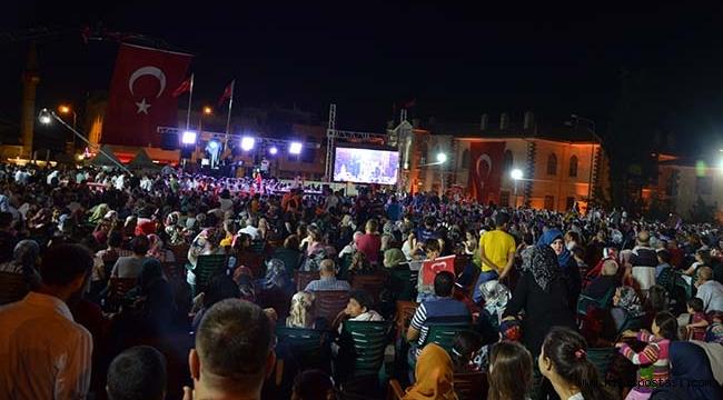 Kilis'te 15 Temmuz Gecesi