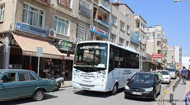 Kilis'te Bayramda Dolmuşlar Ücretsiz