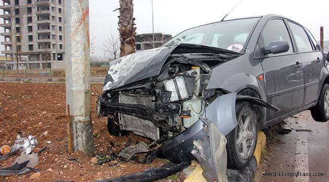 Kilis'te Trafik Kazası