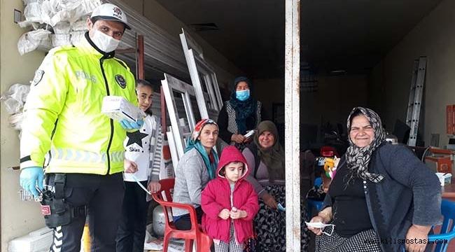 Musabeyli'de Ücretsiz Maske Dağıtımı Başladı