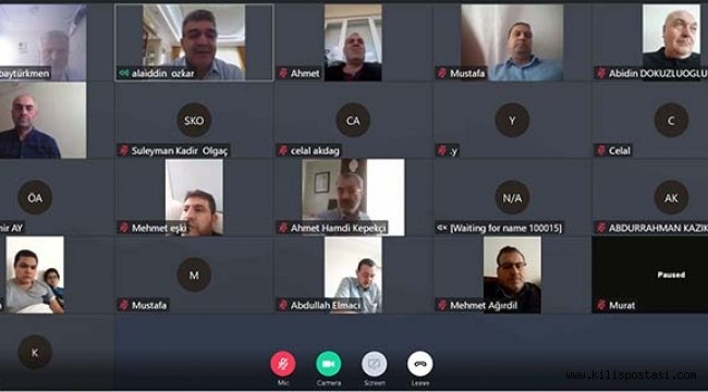 BTP Kilis İl Teşkilatı Tele Konferans ile Bayramlaştı