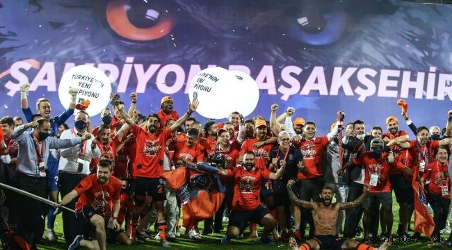 SüperLig'de 2019-2020 Sezonunun Şampiyonu Başakşehir