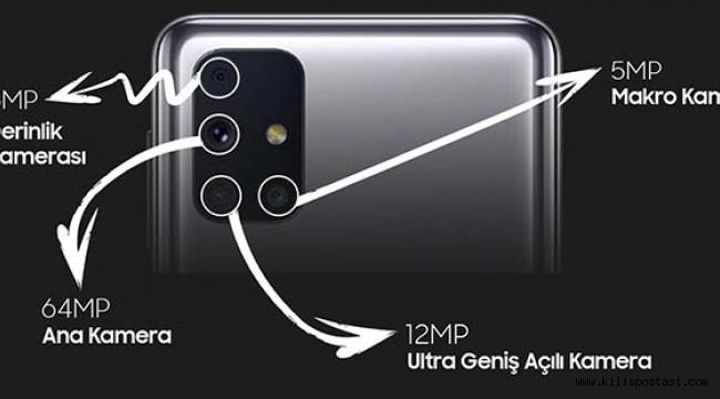 Galaxy M31s 3.499 TL'ye Ön Siparişte!