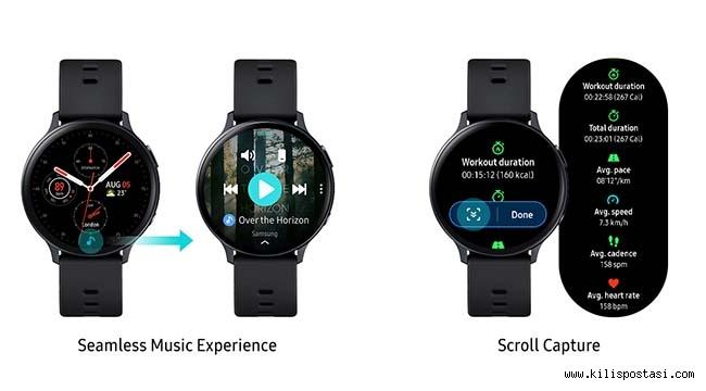 Galaxy Watch Active2 için yazılım güncellemesi yayınlandı!
