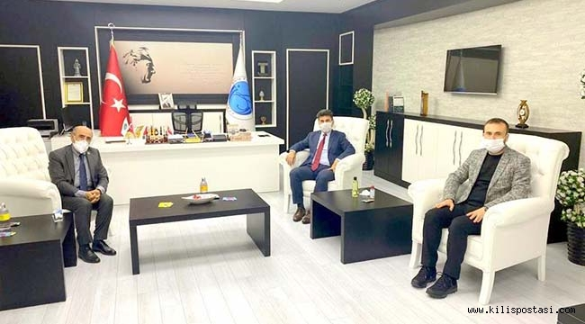 Gaziantep'ten Rektör Karacoşkun'a Ziyaret