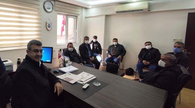 BTP İl Başkanı Özkar Gazetecilerle Buluştu