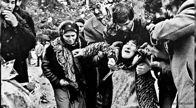Hocalı'daki Ermeni Vahşetinin 29. Yıl Dönümü
