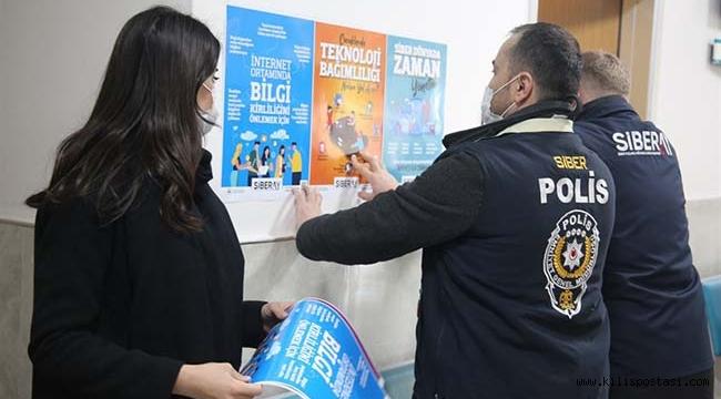 Kilis'te Siberay Programı ile Halka Uyarı!