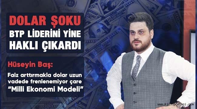Dolar Şoku BTP Liderini Yine Haklı Çıkardı