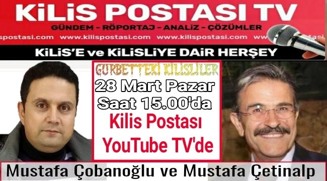Mustafa Çetinalp Pazar Günü KilisPostası YouTube TV'de