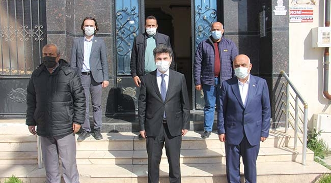 Rektör Karacoşkun KBC'yi Ziyaret Etti
