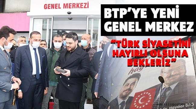 Bağımsız Türkiye Partisi'ne Yeni Genel Merkez Binası