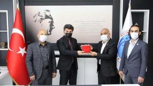 KBC'den Rektör Karacoşkun'a Ziyaret