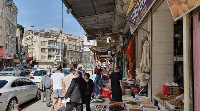Kilis'te Tam Kapanmada İlk Pazartesi