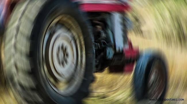 Kilis'te Traktör Bir Can Daha Aldı