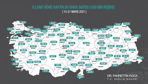 Kilis'te Vaka Sayıları Düşüyor