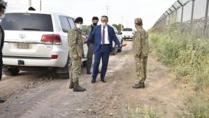 Vali Soytürk, Sınırda İnceleme Yaptı