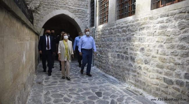 Bakan Yardımcısı Yavuz Kilis'i Gezdi