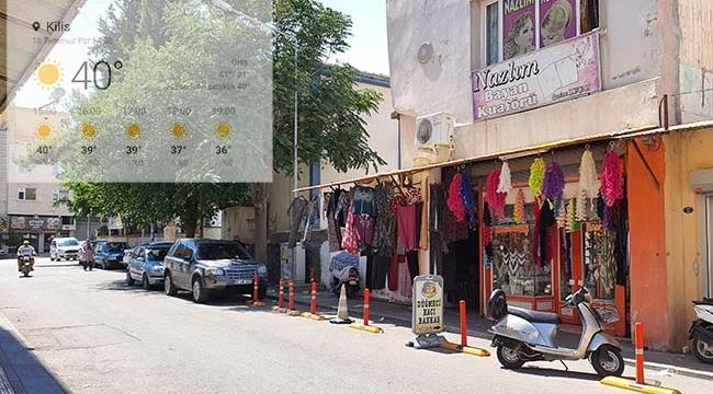 Kilis'te Mevsimin En Yüksek Sıcakları!