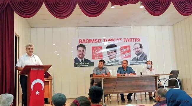 BTP Elbeyli ve Polateli İlçe Kongrelerini Yaptı