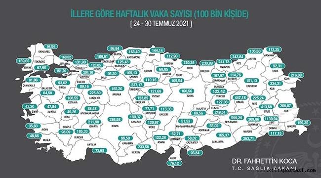 Kilis'te Vaka Sayıları Katlanıyor