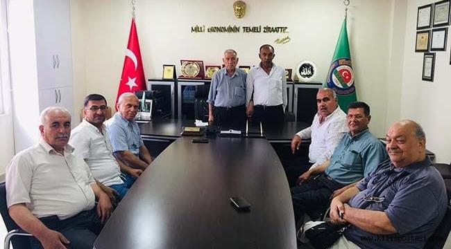 Kilis Ziraat Odası Başkanı İbrahim Kara Oldu