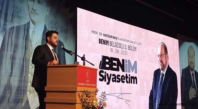 Prof. Dr. Haydar Baş'a Duygu Dolu Anma…