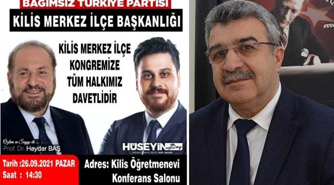 BTP Kilis'te Kongreye Hazırlanıyor