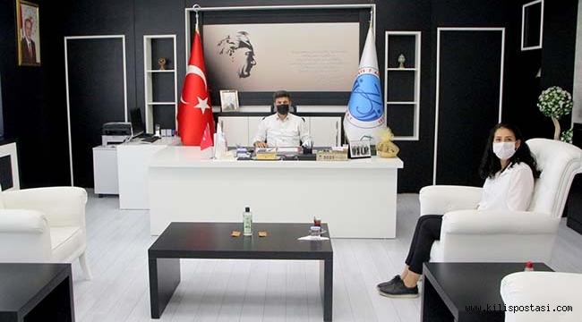 Nadide Öztürk'ten Rektöre Ziyaret