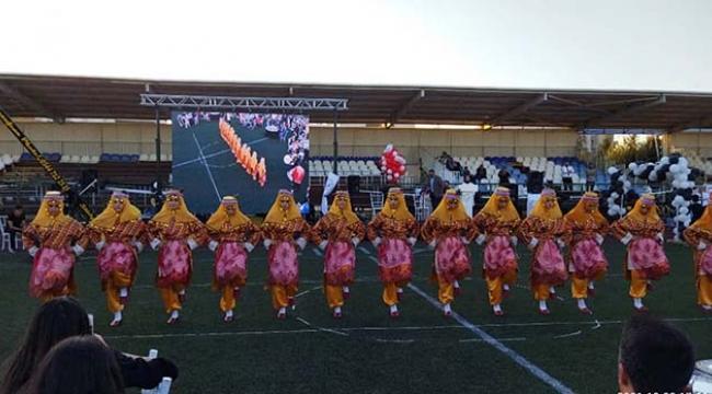 Kilis'te Halk Oyunları ve Kültür Şenliği Düzenlendi