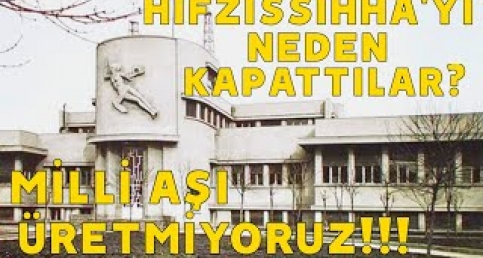 AŞIDA NEDEN GERİ KALDIK? HIFZISSIHHA'YI KAPATMANIN BEDELİNİ ÖDÜYORUZ!!!