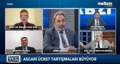 Kilis üzüm ve fıstık üreticisinin sorunları Meltem TV'de konuşuldu